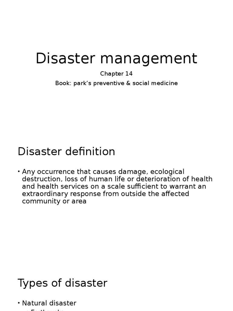 disaster management | physical therapy | emergency management