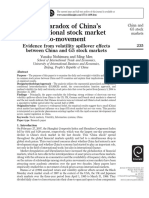 Evidence From Volatility Spillover Effect Between China and G5 Stock Markets