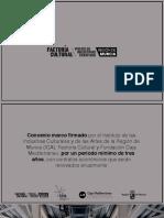 Presentación del proyecto de Factoría Cultural en Murcia