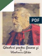 Vladimir Ghica - Ganduri Pentru Fiecare Zi PDF