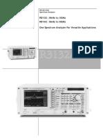 Advantest R3132,R3162 Spectrum Analyzer Data Sheet.pdf