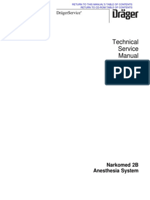 Drager-Narkomed - Service Manual pdf | Read Only Memory | Analog To