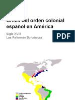 Crisis Del Orden Colonial