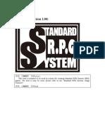 Standard RPG System (SRS)