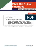 _período Junho 2015 - InFORMATIVO 110 Esquematizado