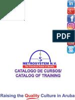 Catalog of Training Metrosystem Aruba