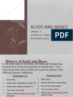 Acids and Bases Lesson 11