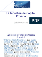 LA INDUSTRIA DEL CAPITAL PRIVADO 1591272.ppt