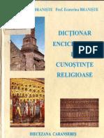 Pr. Prof.ene Si Ecaterina Braniste - Dictionar Enciclopedic de Cunostinte Religioase PDF