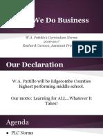 how we do business