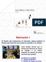 Clase Modelo (Regresión Lineal Simple y Múltiple)