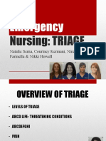 Final Emergecny Powerpoint Triage