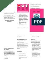 Pamflet HIV-AIDS Utk Dr. Niar - By Prilly