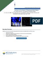 Superresolution Microscopy on the Basis of Engineered Dark States