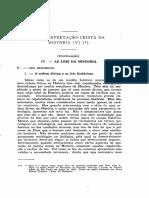 1956 - Otto a. Piper a Interpretação Cristã Da História V