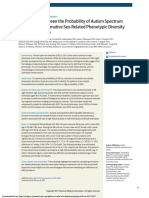 Association Between the Probability of Autism Spectrum Disorder and Normative Sex-Related Phenotypic Diversity in Brain Structure