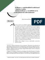 Pluralismo y espiritualidad tradicional en América Latina.