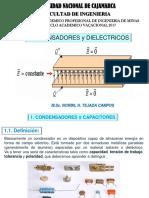 Condensadores y Dielectricos
