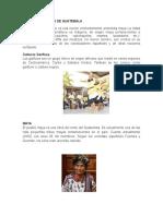 Etnias o Culturas de Guatemala