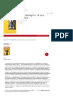 Le philosophe et ses pauvres (pour [node:field-book-level]) • Flammarion • Notre sélection, Rancière, Littérature • Philosophie magazine