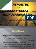 Transportul si depozitarea hidrocarburilor