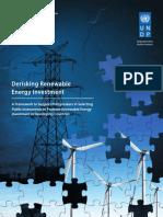 UNDP Derisking Renewable Energy Investment - Full Report (April 2013)