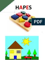 Lesson 3 - Shapes