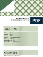 Lapsus Thalasemia