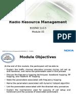5.1 BSSPAR Radio Resource Management