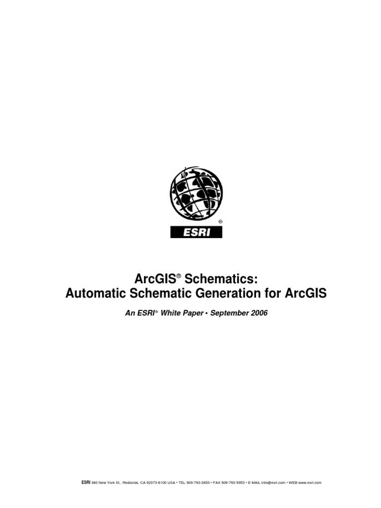 Arcgis Schematics | Arc Gis | Esri