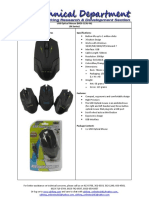 (MOS-323U-M) USB Optical Mouse
