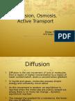 Diffusion&Osmosis