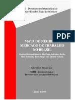 Mapa Do Negro No Mercado de Trabalho No Brasil (DIEESE)