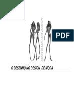 O Desenho No Design de Moda