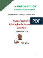Curso Educa o de Jovens e Adultos 66525