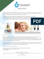 Implantes dentales IOI de Avanzada