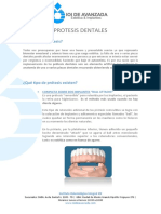 Tratamiento Protesis Dentales IOI DE AVANZADA