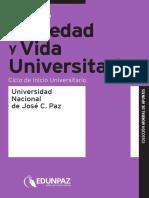 CIU Taller de Sociedad y Vida Universitaria