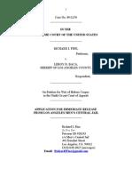 US Supreme Court Richard Fine Application for Immediate Release July 2010