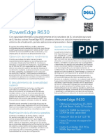 Dell PowerEdge R730 Spec Sheet | Hard Disk Drive | Hyper V