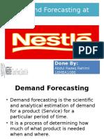 Demand Forecasting at Nestle