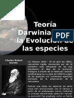 Evolucion de Las Especies