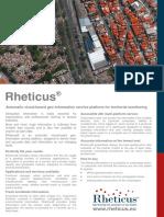 Rheticus Brochure (ENG)