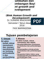Kuliah Infant Growth and Development