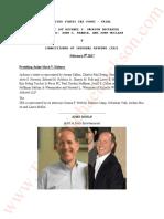 John Doelp Transcripts. Michael Jackson EXE Branca V IRS