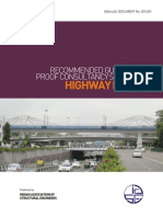 Recommended Guidelines on Proof Consultancy Services for Highway Bridges