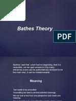 baths theory