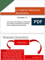 Esensi Dan Urgensi Wawasan Nusantara