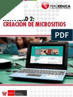 Actividad 2 - Creacion de Micrositios