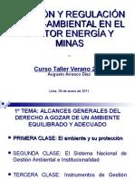 1 CLASE - Alcances Generales Del Derecho Al Ambiente (Augusto Arrasco)